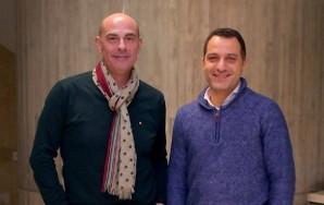 Por la izquierda, Pedro Alonso y Luis Rodríguez Muñiz.